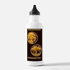 American Buffalo Gold  Water Bottle