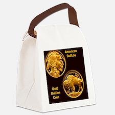 American Buffalo Gold Bullion 50  Canvas Lunch Bag