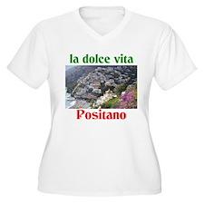 la dolce vita Positano Italy. T-Shirt