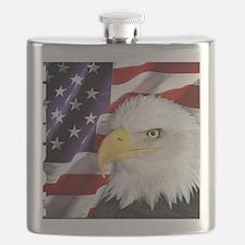 Freedom Flag & Eagle Flask