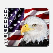 Freedom Flag & Eagle Mousepad