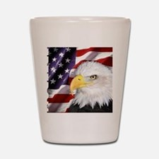 Freedom Flag & Eagle Shot Glass