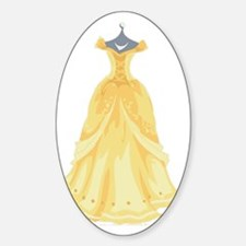 Princess Yellow Decal