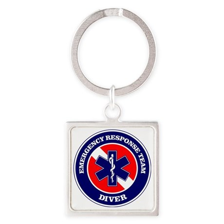 ERT Diver 1 Square Keychain
