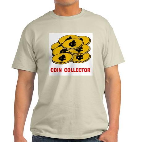 COIN COLLECTOR Light T-Shirt