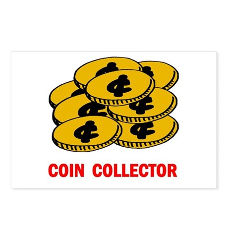 COIN COLLECTOR Postcards (Package of 8)