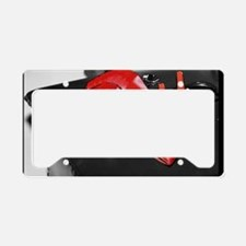 Red Shoe Still Life - Digital License Plate Holder
