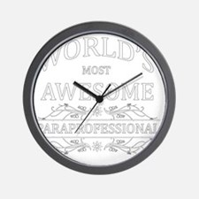 paraprofessional Wall Clock