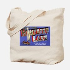 Kentucky Lake Greetings Tote Bag