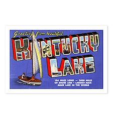 Kentucky Lake Greetings Postcards (Package of 8)