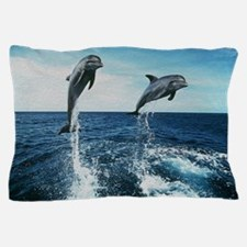 Twin Dolphins Pillow Case