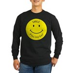 Smile If You are Gay (Smiley Face) Long Sleeve Dar