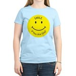 Smile If You are Gay (Smiley Face) Women's Light T