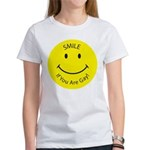 Smile If You are Gay (Smiley Face) Women's T-Shirt