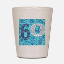 60th Birthday Poem - Sixty Is a Grand Y Shot Glass