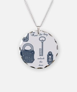 Steampunk Find the Key Necklace