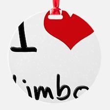 I Love Limbo Ornament