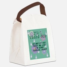 4 Year Old Birthday Gift for Boy  Canvas Lunch Bag