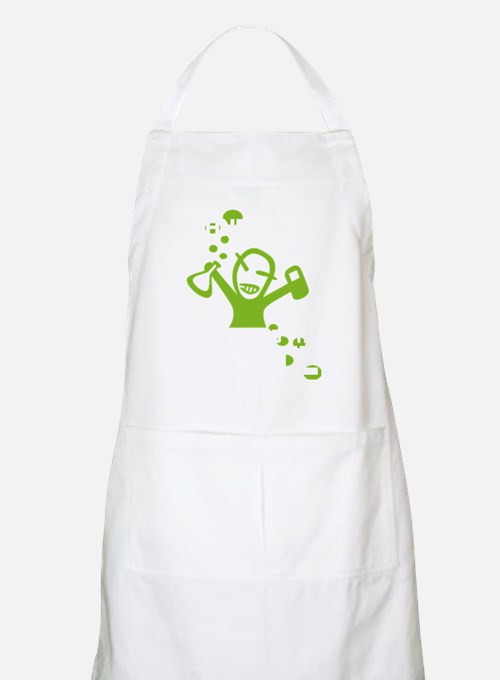 Stand back! Apron