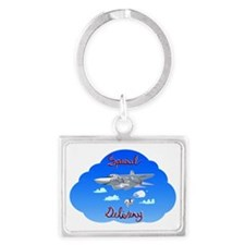 FB-111A - Special Delivery Landscape Keychain