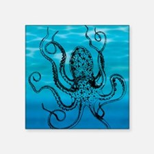 "Octopus Square Sticker 3"" x 3"""