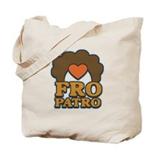 Fro Patro with Heart Tote Bag