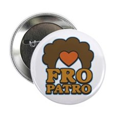 Fro Patro with Heart Button