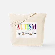 Cute Autistic son Tote Bag
