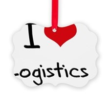 I Love Logistics Ornament