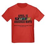 Autism Month Kids Dark T-Shirt