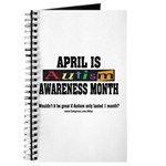 Autism Month Journal