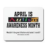 Autism Month Mousepad