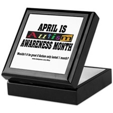 Autism Month Keepsake Box