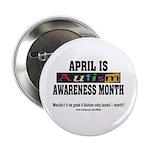 Autism Month Button