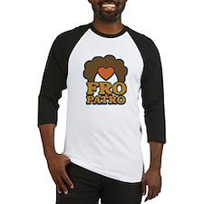 Fro Patro with Heart Baseball Jersey