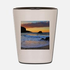 Mediterranean Sunset Shot Glass