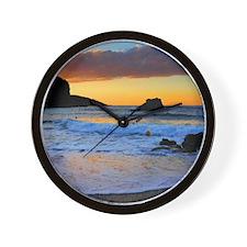 Mediterranean Sunset Wall Clock