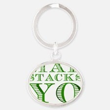 Mad Stacks Yo - Breaking Bad Oval Keychain