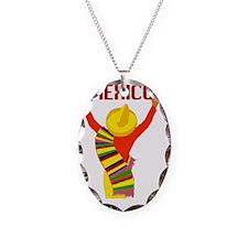 Vintage Mexico Travel Necklace