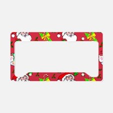 Christmas, Santa Claus, Reind License Plate Holder