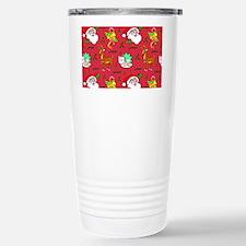 Christmas, Santa Claus, Travel Mug