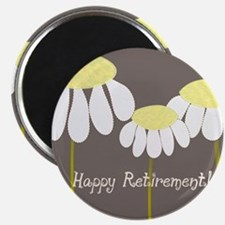 happy retirement daisies Magnet