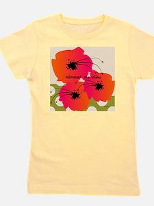 Retirement Nap pillow Fuschia Flowers Girl's Tee