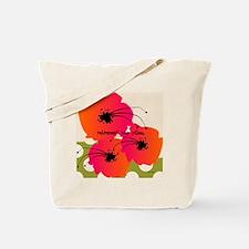 Retirement Nap pillow Fuschia Flowers Tote Bag