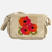 Retirement Nap pillow Fuschia Flower Messenger Bag