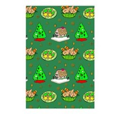 Christmas, Trees, Cookies Postcards (Package of 8)