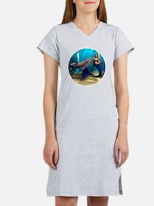 Mermaid and Dolphin Women's Nightshirt