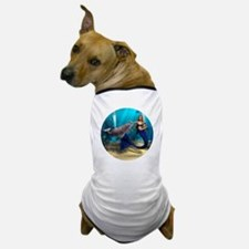 Mermaid and Dolphin Dog T-Shirt