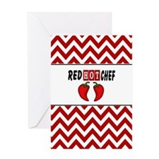 Red Hot Chef Greeting Card