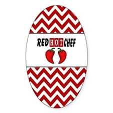 Red Hot Chef Decal